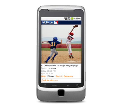 MLB Advanced Media and netomat ink social media deal